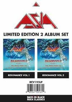 ASIA:  RESONANCE - LIVE IN BASEL SWITZERLAND VOL 1 AND 2 - SET (2x2LP VINYL)