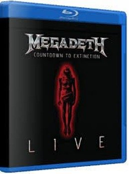 MEGADETH: COUNTDOWN TO EXTINCTION - LIVE (BLU-RAY)
