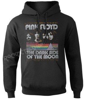bluza PINK FLOYD - RETRO STRIPES, kangurka z kapturem