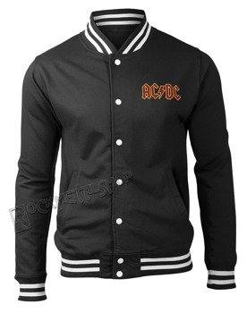 bluza/kurtka AC/DC - CLASSIC LOGO rozpinana