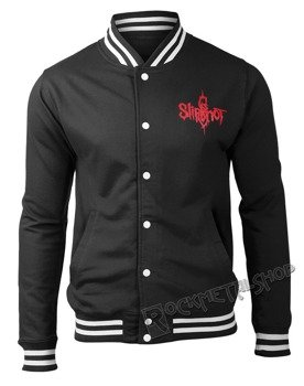 bluza/kurtka SLIPKNOT - LOGO  9 POINT STAR, rozpinana