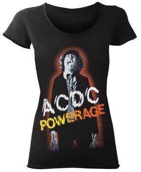 bluzka damska AC/DC - POWERAGE czarna
