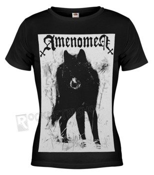 bluzka damska AMENOMEN - SNOW WOLF (OMEN037DA BLACK)