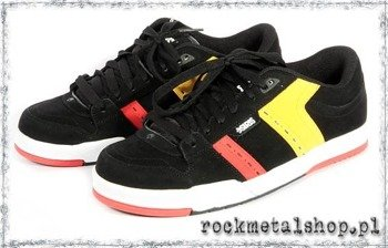 buty OSIRIS - VERTIGO black/red/yellow
