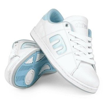 buty damskie ETNIES - SANTIAGO (WHITE/BLUE)