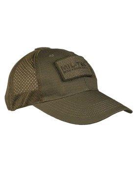 czapka BASEBALL CAP NETZ OLIV