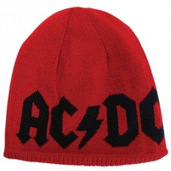 czapka zimowa AC/DC - LOGO, obustronna
