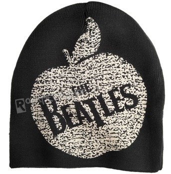 czapka zimowa THE BEATLES - VINTAGE APPLE RECORDS czarna