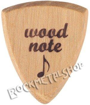 drewniana kostka do gitary WOODNOTE Bull Shield - AKACJA