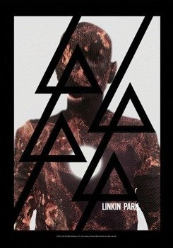 flaga LINKIN PARK - LIVING - BURN IT