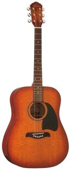 gitara akustyczna WASHBURN OG2(FYS) OSCAR SCHMIDT Flamed Burst
