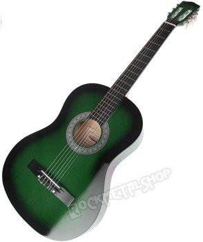 gitara klasyczna CRAFTMAN GREEN BURST M5831/GREEN