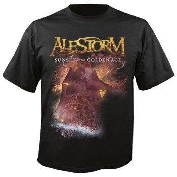 koszulka ALESTORM - SUNSET ON THE GOLDEN AGE