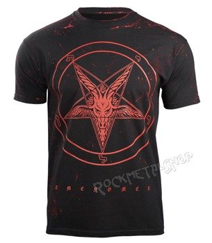 koszulka AMENOMEN - GOAT (OMEN001KM ALLPRINT RED)