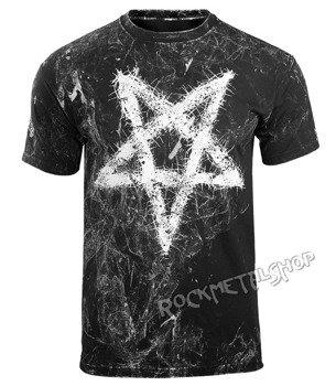 koszulka AMENOMEN - PENTAGRAM (OMEN096KM ALLPRINT WHITE)