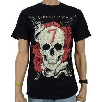 koszulka APOCALYPTICA - SKULL ROSE