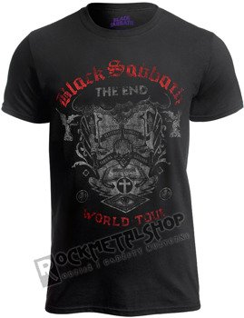 koszulka BLACK SABBATH - THE END READING SKULL