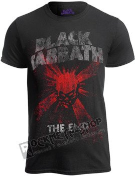 koszulka BLACK SABBATH - THE END SKULL SHINE