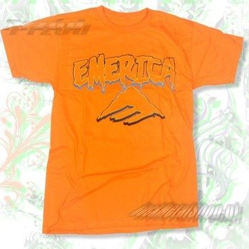 koszulka EMERICA - SERPENT (ORANGE) 09'