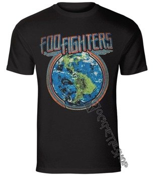 koszulka FOO FIGHTERS - GLOBE