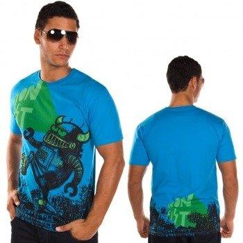 koszulka IRON FIST - WE ARE 138 (ELECTRIC BLUE)