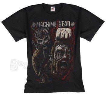 koszulka MACHINE HEAD - GOLIATH RED