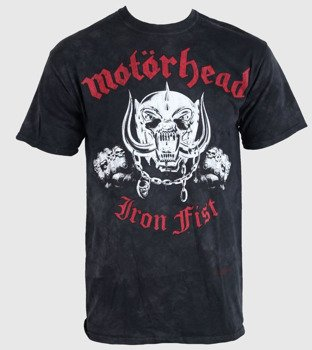 koszulka MOTORHEAD - IRON FIST, barwiona