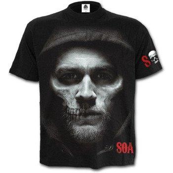 koszulka SONS OF ANARCHY - JAX SKULL