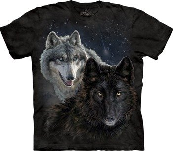 koszulka THE MOUNTAIN - STAR WOLVES, barwiona