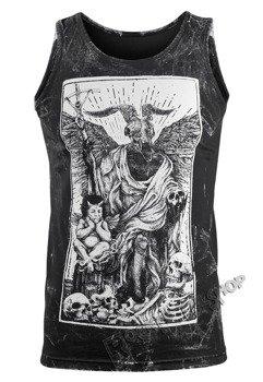 koszulka na ramiączkach AMENOMEN - DEVIL (OMEN094KR ALLPRINT WHITE)