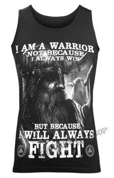 koszulka na ramiączkach VICTORY OR VALHALLA - I AM A WARRIOR
