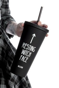 kubek podróżny KILL STAR CLOTHING - RESTING WITCH FACE