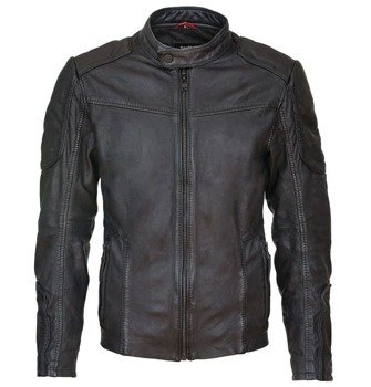 kurtka SUICIDE SQUAD LEATHER JACKET DEADSHOT, black
