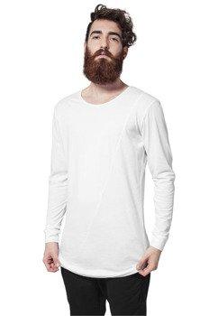 longsleeve LONG SHAPED FASHION white