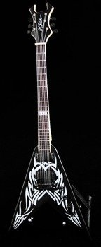 miniaturka gitary SLAYER - KERRY KING: BC Rich V TRIBAL