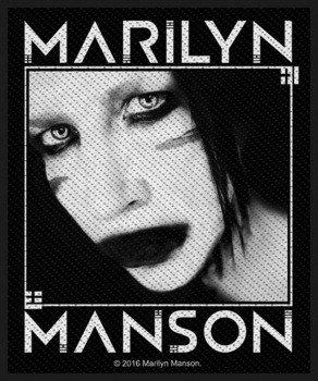 naszywka MARILYN MANSON - VILLAIN