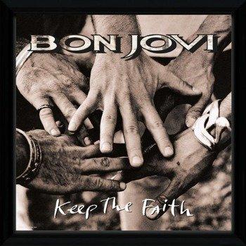 obraz w ramie BON JOVI - KEEP THE FAITH