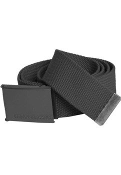 pas parciany CANVAS BELTS charcoal