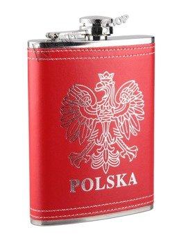 piersiówka czerwona POLSKA (240ml)