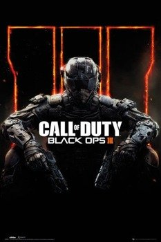 plakat CALL OF DUTY BLACK OPS 3 - COVER PANNED OUT