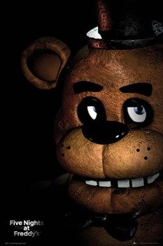 plakat FIVE NIGHTS AT FREDDYS - FAZBEAR