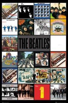 plakat THE BEATLES - ALBUMS