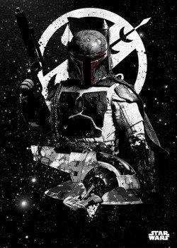 plakat z metalu STAR WARS - SLAVE