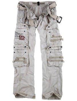 spodnie bojówki ROYAL TRAVELER TROUSER - ROYALWHITE