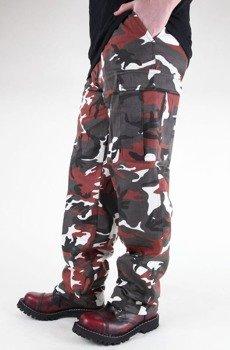 spodnie bojówki US RANGER HOSE TYP BDU RED CAMO