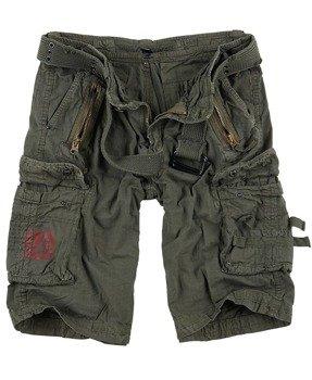 spodnie bojówki krótkie ROYAL SHORTS - ROYALGREEN