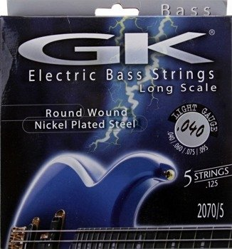 "struny do gitary basowej 5str. MEDINA ARTIGAS 2070/5 ""GK"" Nickel Plated / Light /040-125/"