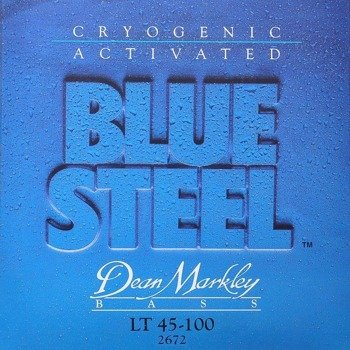 struny do gitary basowej DEAN MARKLEY - BLUE STEEL LT 45-100