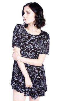 sukienka DISTURBIA - FOREST DRESS