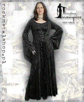suknia LILIAN BLACK/BLACK [GT353] Laughing Vampire